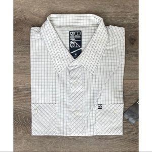 Billabong Woven SS Plaid Shirt